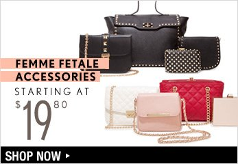 Femme Fetale Accessories Starting at $19.80 - Shop Now