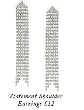 Statement Shoulder Earrings