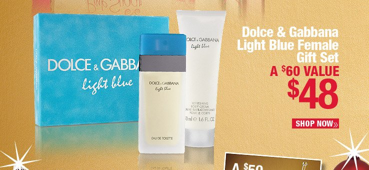 Dolce and Gabbana Light Blue Female Gift Set