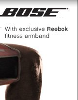 BOSE® | With exclusive Reebok fitness armband
