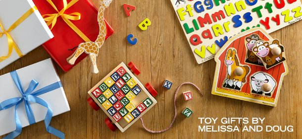 TOY GIFTS BY MELISSA AND DOUG, Event Ends November 19, 9:00 AM PT >