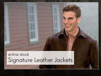 Signature Leather Jackets