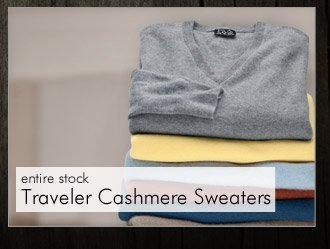 Traveler Cashmere Sweaters
