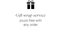 Gift wrap service | yours free with any order