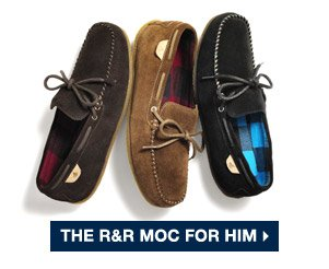 THE R&R MOC FOR HIM >