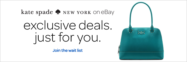 kate spade NEW YORK on eBay exclusive deals just for you.  Join the wait list