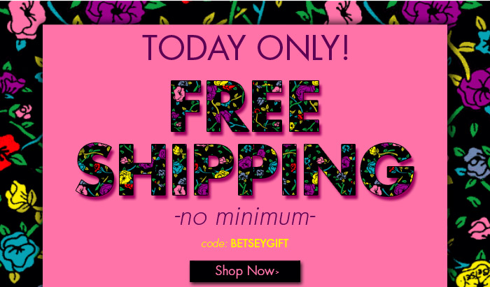 TODAY ONLY - Free Shipping, No Minimum
