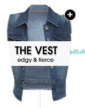 Frayed Armhole Vest