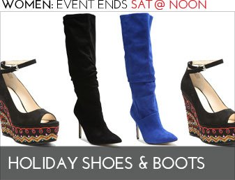 HOLIDAY SHOES & BOOTS - Women