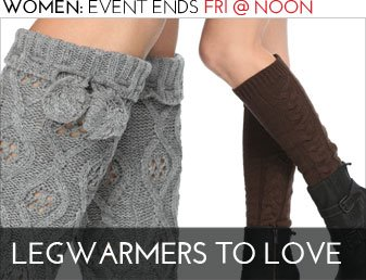 LEGWARMERS TO LOVE - Women