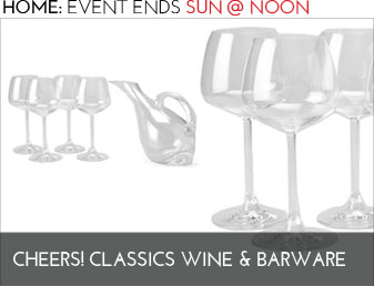 CHEERS! CLASSIC WINE BARWARE - Home