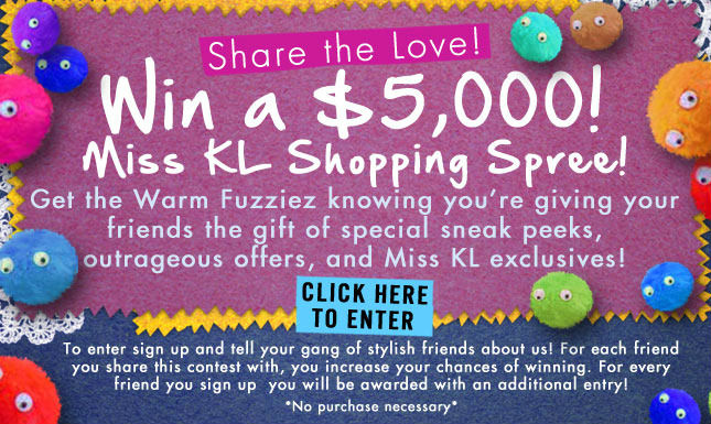 Win $5000 Shopping Spree