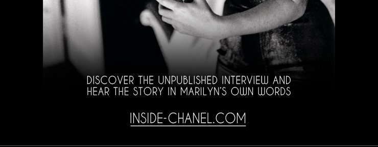 DISCOVER THE UNPUBLISHED INTERVIEW AND HEAR THE STORY IN MARILYN'S OWN WORDS