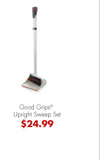 Good Grips® Upright Sweep Set $24.99