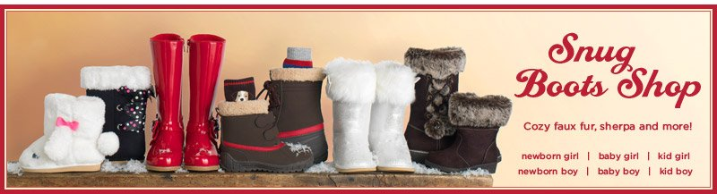 Snug Boots Shop. Cozy faux fur, sherpa and more!