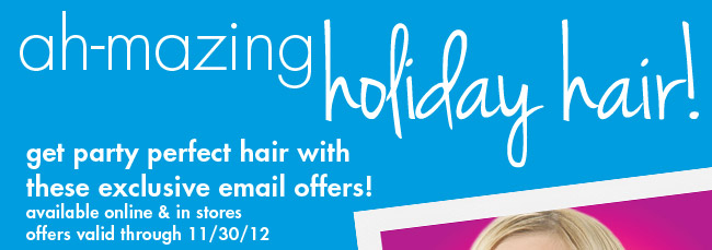 ah-mazing holiday hair!