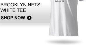 Brooklyn Nets White Tee »