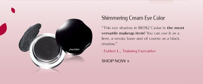 Shimmering Cream Eye Color BK912 Caviar