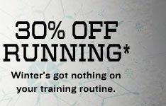 30% OFF RUNNING*