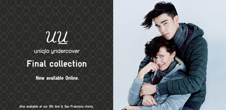 UU. Uniqlo Undercover. Final Collection. Now available Online.
