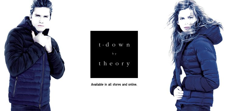 t.down by theory. Also available at our 5th Ave & San Francisco stores.