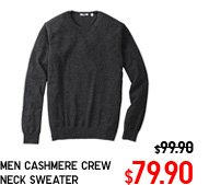 MEN CASHMERE CREW NECK SWEATER