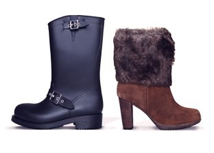 Cozy Chic Winter Boots featuring Dr. Scholls