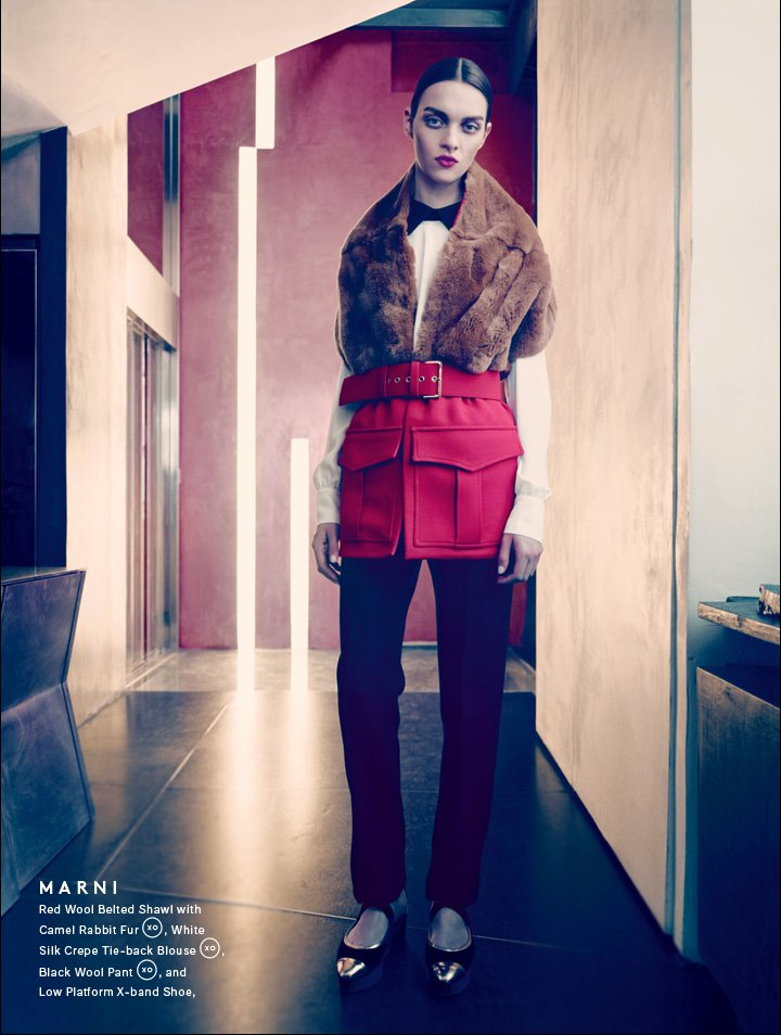 Red Alert: Shop Marni's Standout Fall Fur