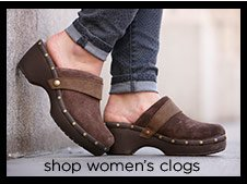 shop women's clogs