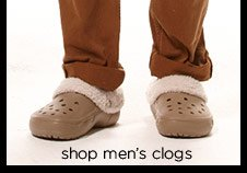 shop men's clogs