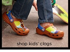 shop kids' clogs