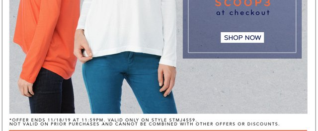 Layer up! Limited-time offer