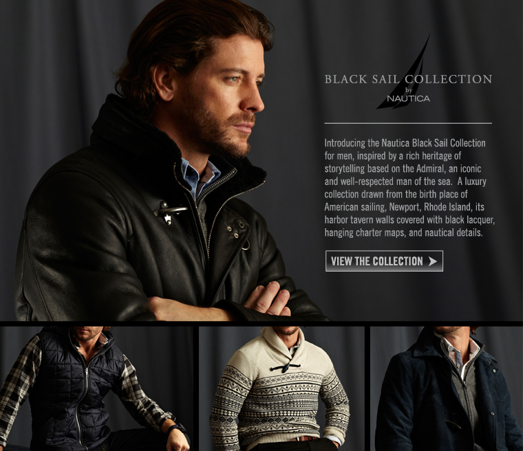 Introducing the Nautica Black Sail Collection