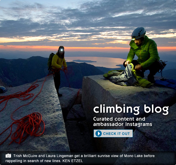 Climbing Blog