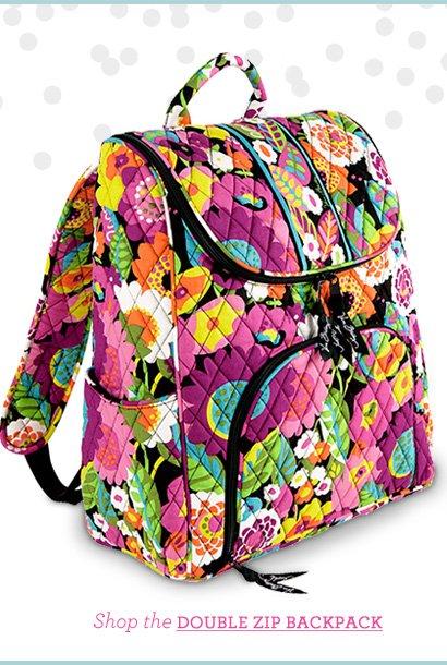 Shop the Double Zip Backpack