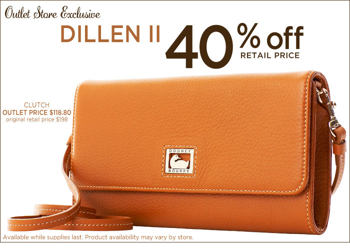 Outlet Exclusive - Dillen II 40% off retail price