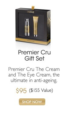 Premier Cru Gift Set: Premier Cru The Cream and The Eye Cream, the ultimate in anti-ageing. $95 ($155 VAlue) -- SHOP NOW