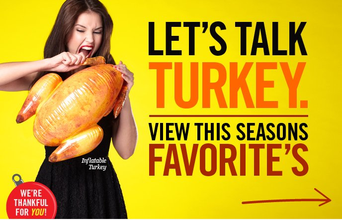 Let's Talk Turkey.
