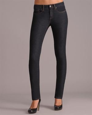Henry & Belle Straight Waist Skinny Jeans With Button Detail $65