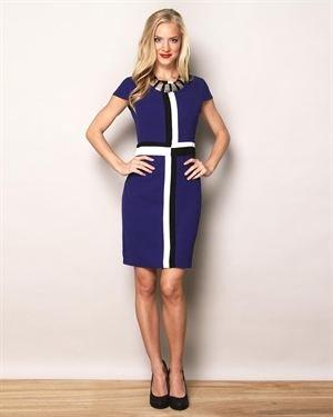 ABS Silver Label Tri-tone Dress $19
