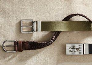 Lacoste Belts