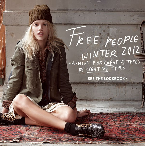 Get first look at the latest from Free People. Every girl's go-to collection for well-priced pieces with one-of-a-kind details is having a standout winter season. Shop Free People >>