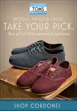 Wools, twills, & laces. Take your Pick. Shop Cordones.