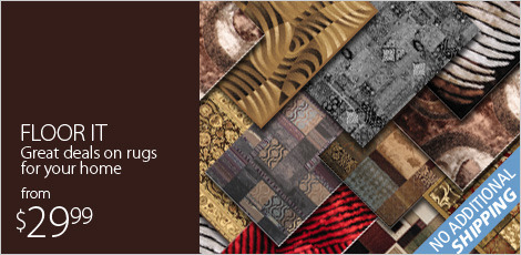 Floor It: Great deals on rugs for your home