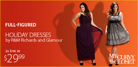 Holiday dresses by r m richards and Glamour
