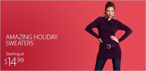 Amazing holiday sweaters