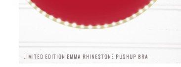 Limited Edition Emma Rhinestone Pushup Bra