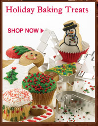 Holiday Baking Treats. Shop now.