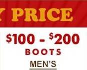Mens Boots $100-$200