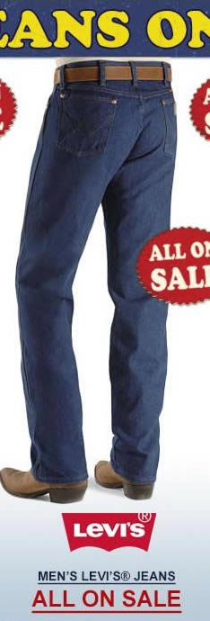 All Mens Levi Jeans